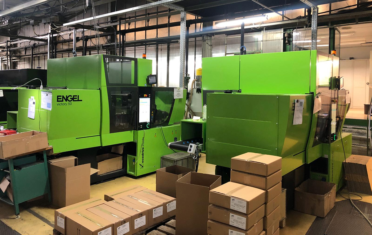 Investment in new injection molding machine