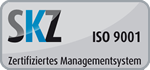 SKZ DIN ISO 9001 Certification